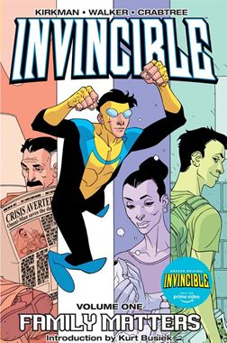 Invincible Vol. 1: Family Matters preview image